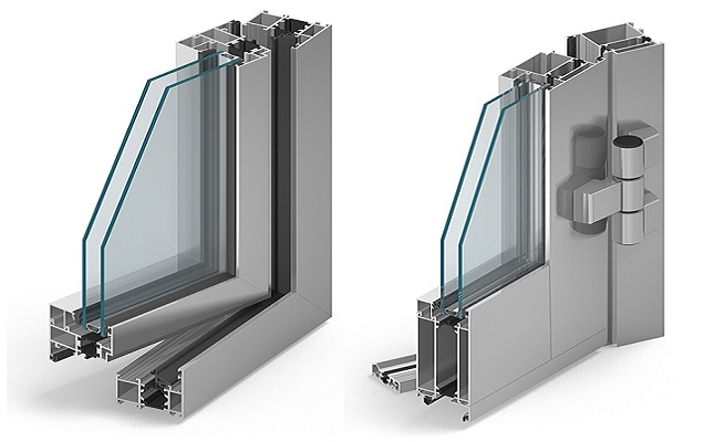 MB-60 alumínium ablak