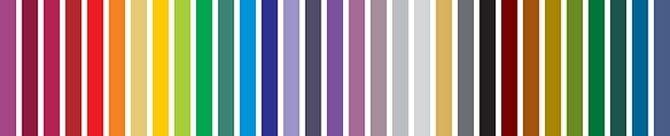 RAL paletta színárnyalatai