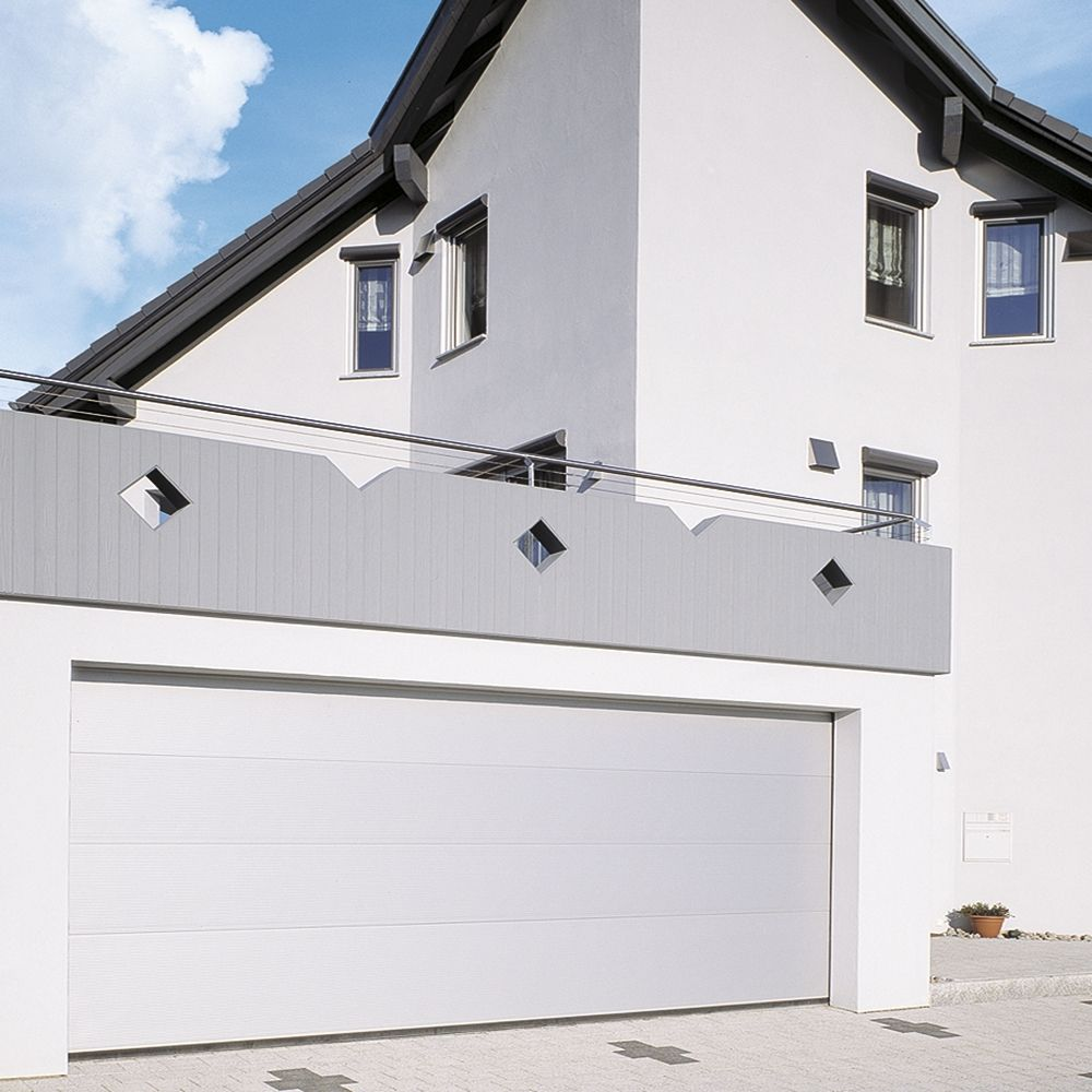 Szekcionált garazskapuk