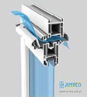 Műanyag ablak kiegészítők - Aereco légbevezető