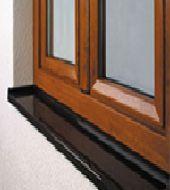 Műanyag ablak kiegészítők - Külső ablakpárkány